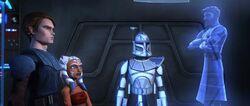 Ahsoka Anakin Rex Obi-Wan Bothawui