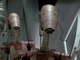 Security battle droid
