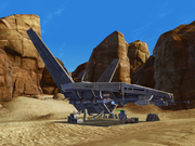 Tyresius Lokais starship