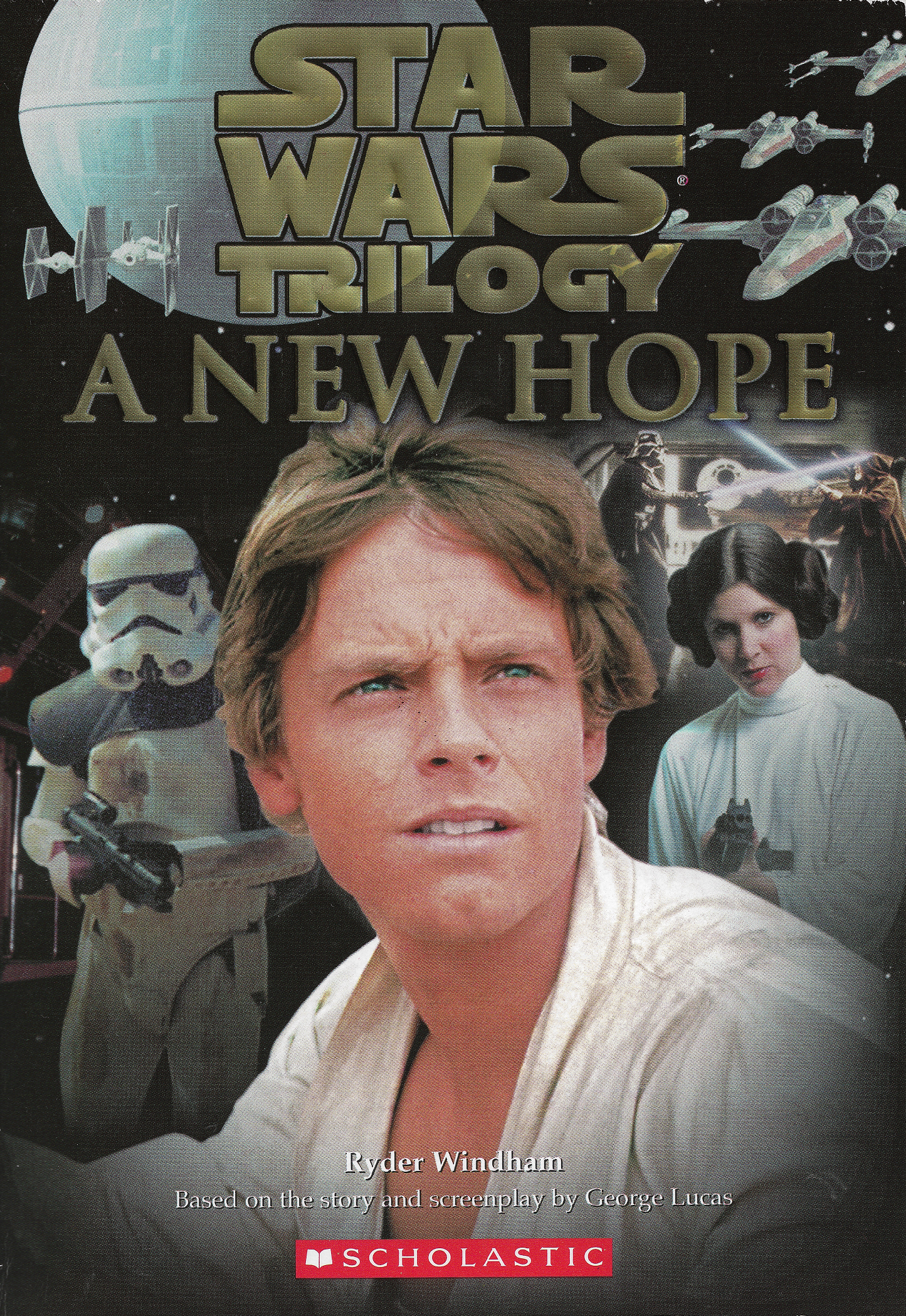 Star Wars Episode Iv A New Hope Junior Novelization Wookieepedia Fandom