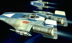 A-Wing blue