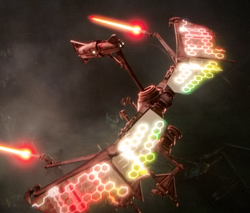 D-wing droid