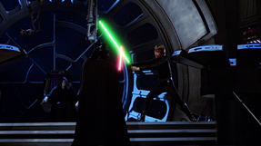 Luke vs Vader - Second Death Star