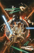Star Wars Marvel 2015 Alex Ross Textless