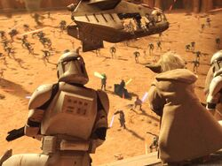 Battle of Geonosis Arena