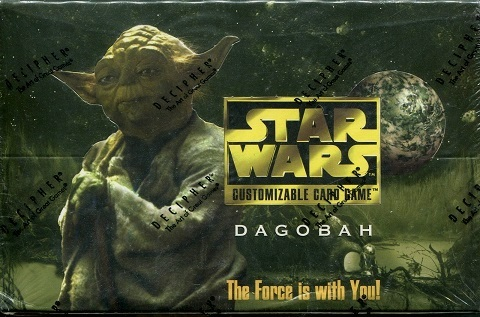 Star Wars CCG Dagobah Limited BB Rogue Asteroid Light Side