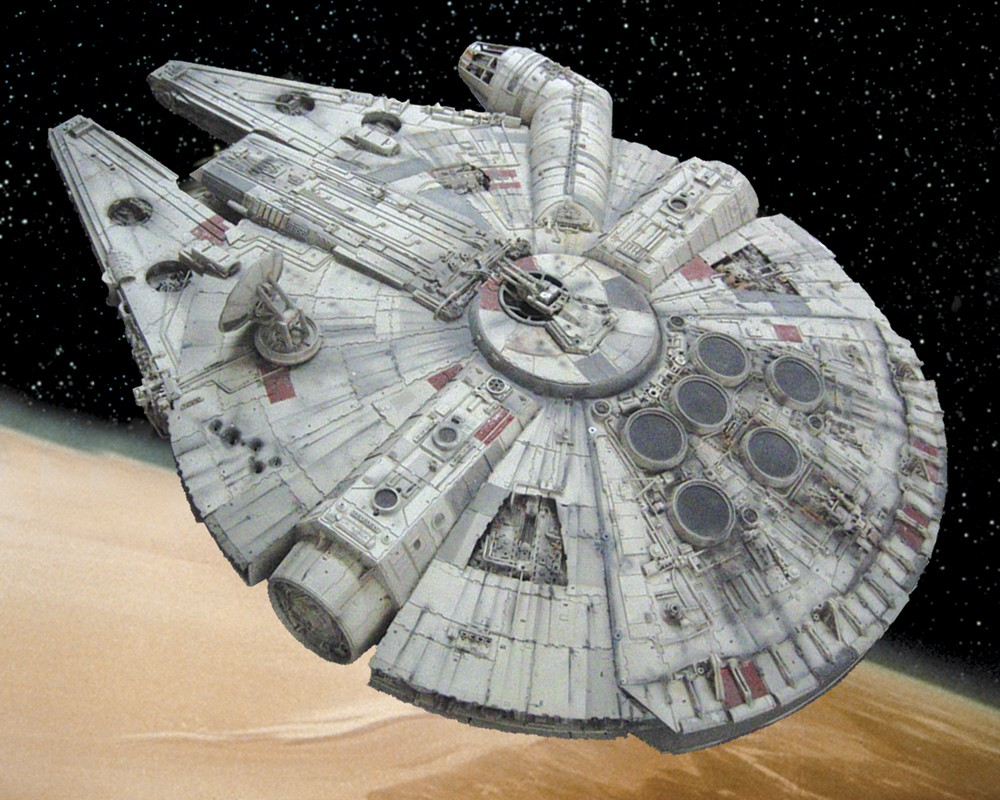 Image result for Millennium falcon Solo end