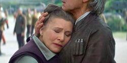 Leia Han hug