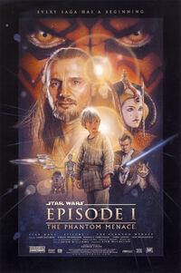 Star Wars Phantom Menace poster