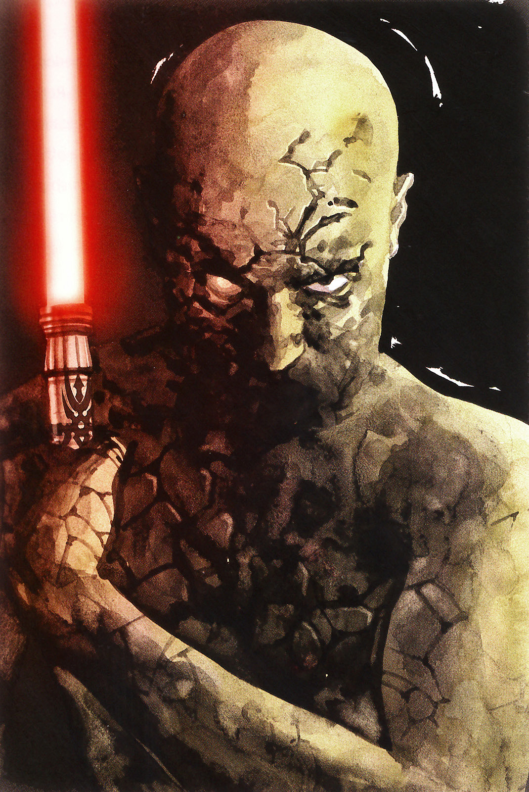 Star Wars, Darth Sion, Lord of Pain, member of the Sith Triumvirate in the First Jedi Purge