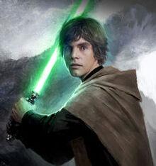 Luke Skywalker-art