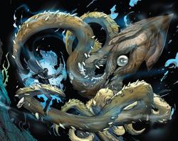DV 15 Squid creature