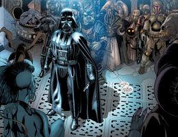 Vader in Jabbas palace