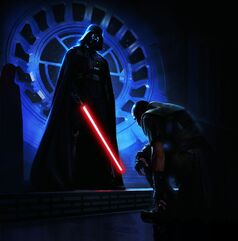 Starkiller and Vader
