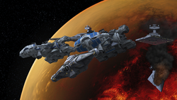 Rebel fleet Mustafar