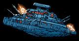 Sith warship