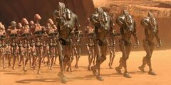 Geonosis droid army