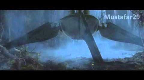 Gwiezdne Wojny - Część 3 - wycięte elementy - yoda