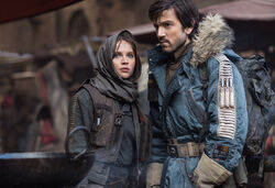 Jyn and Cassian