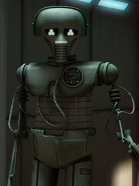 Medical droid Alderaan