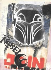Vandalized Imperial Propaganda Poster