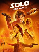 Solo A Star Wars Story 2019 release cover