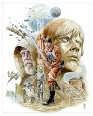 The Legends of Luke Skywalker unused cover art