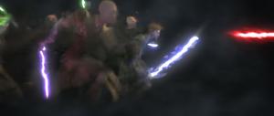 Yoda vision of the Jedi Purge