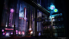 Coruscant Underworld concept art