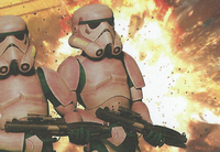 Interrogator Droid Explosion