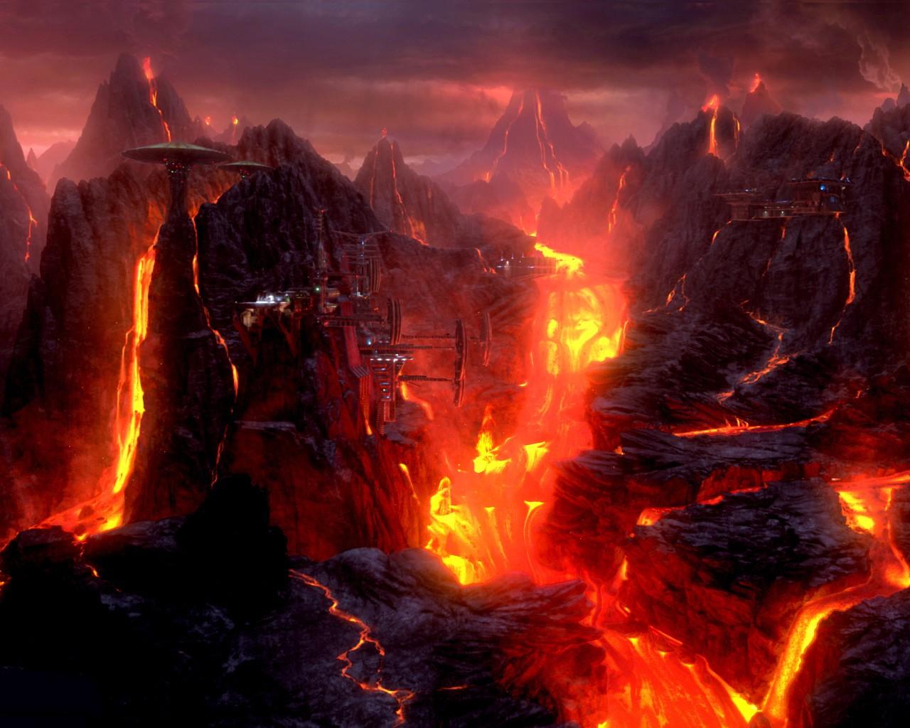 Volcano Wookieepedia Fandom