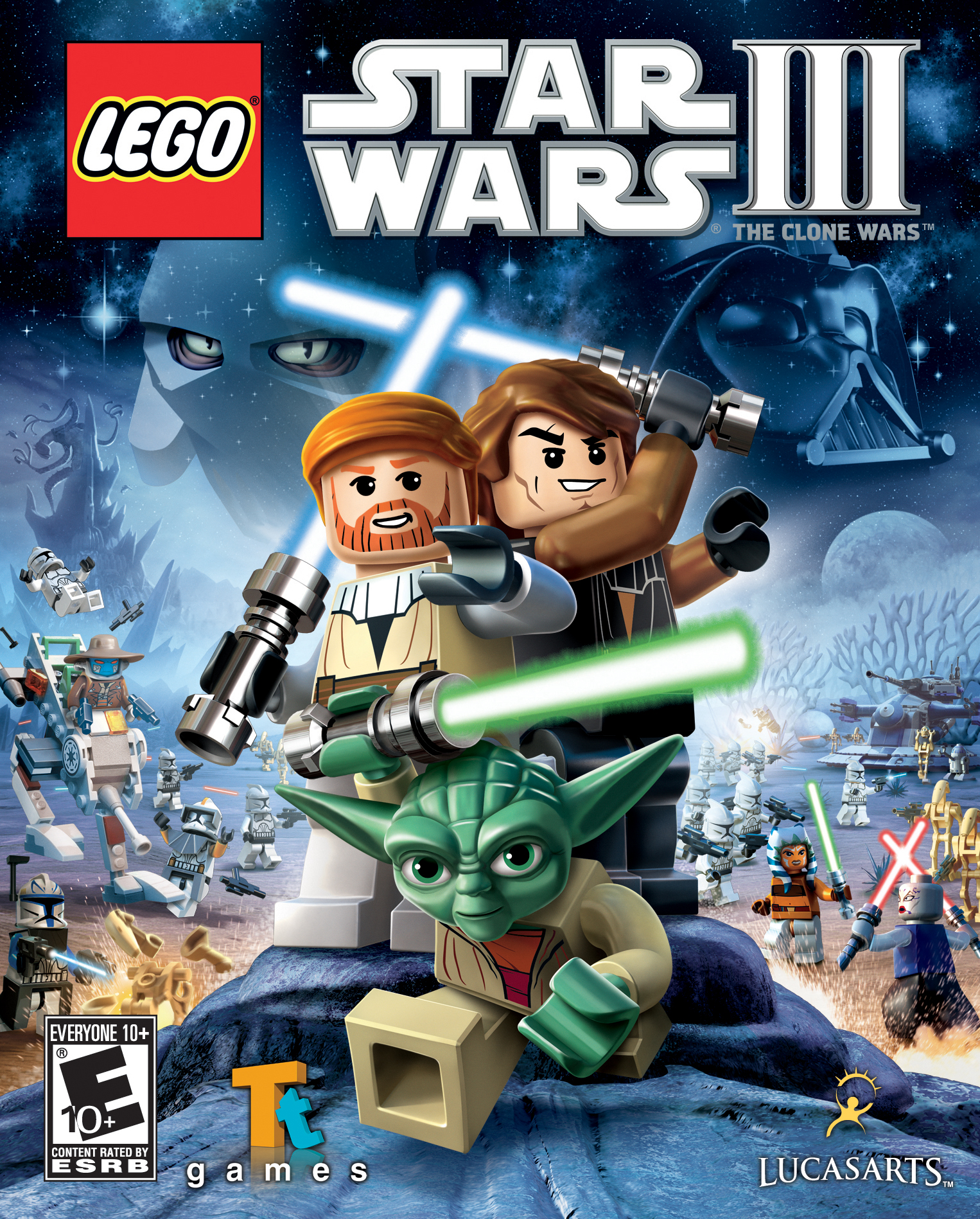 lego star wars the complete saga download wii