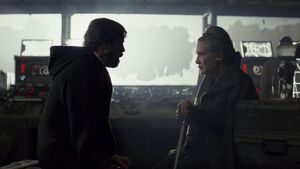 Luke and Leia one last time