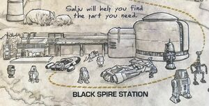 Black Spire Station card