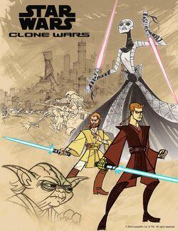 Clone Wars poster