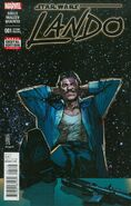 Star Wars Lando 1 2nd Printing Variant