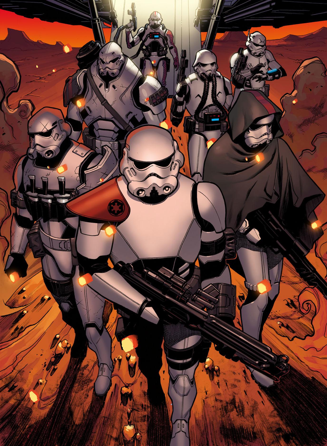 Elite Stormtrooper Promo Art for STAR WARS: THE FORCE AWAKENS ...