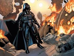 Darth Vader slaughters Tuskens