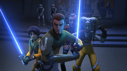 Rebels protect Trayvis