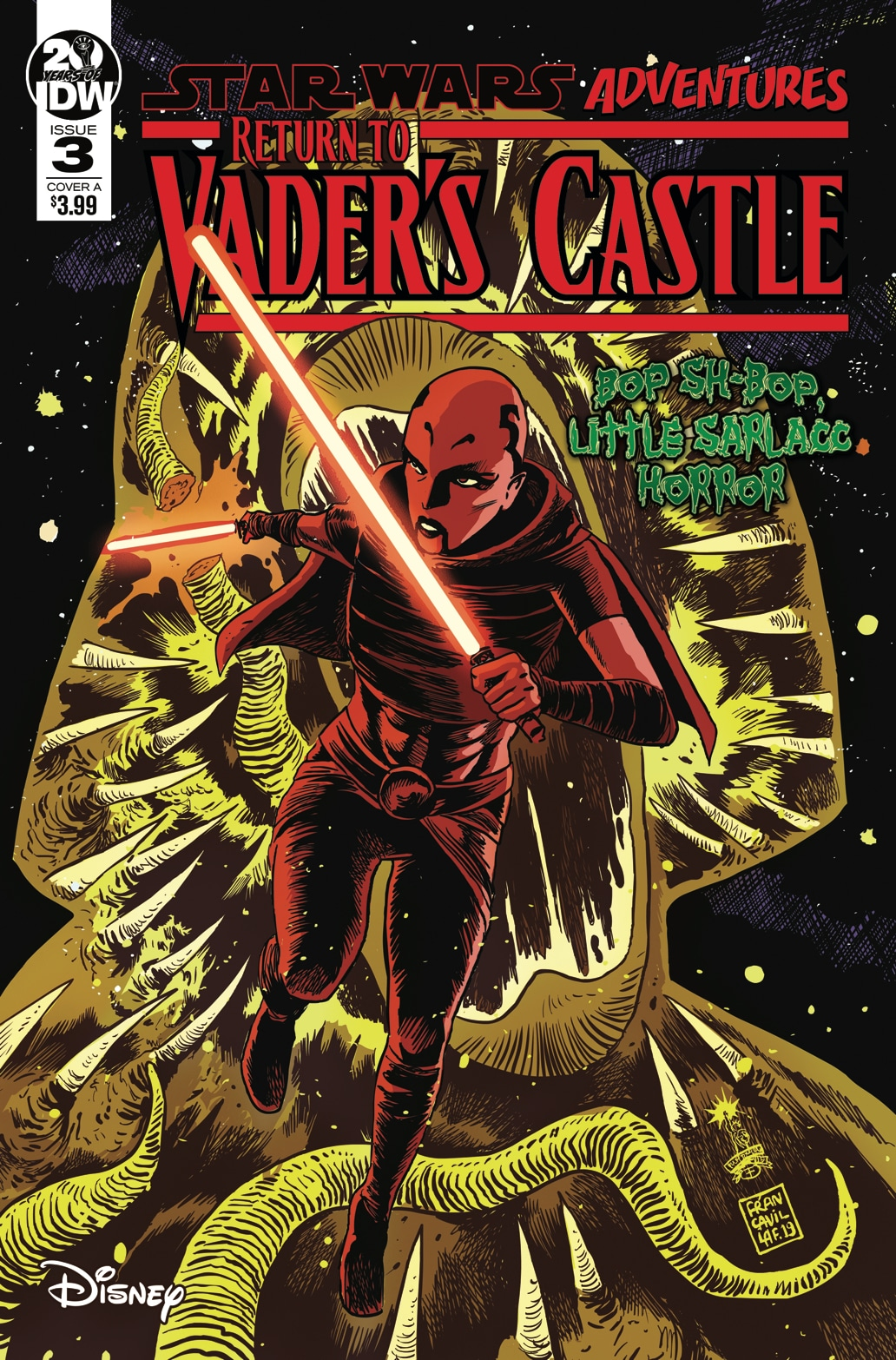 Star Wars Tales From Vaders Castle #3 Cover A - Francavil of 5