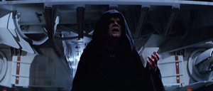 Sidious On The Death Star