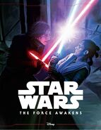 The Force Awakens storybook cover