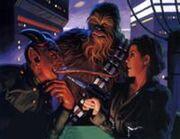 Devaronian, Leia, Chewbacca