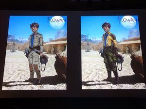 Rowan concept art