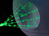 Concave Dish Composite Beam Superlaser