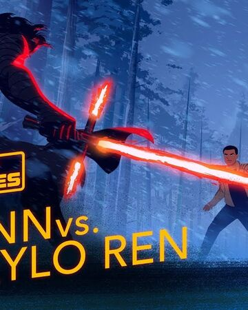 Rey And Finn Vs Kylo Ren Wookieepedia Fandom