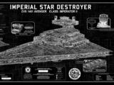 """""""Imperial Star Destroyer"""" SpecPlate"""