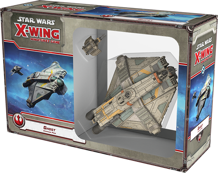 Star Wars X-Wing 2.0 Ghost Expansion Pack