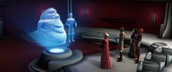 Jabba confers
