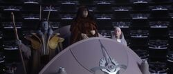 Chancellor Podium
